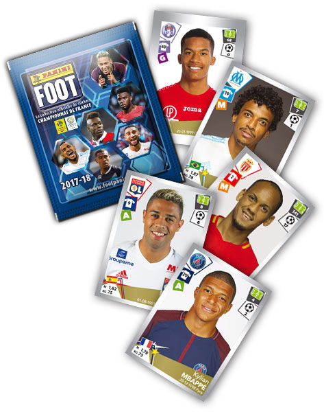 LIGUE 1 STICKERS 2017-18 GENERAL