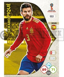 PANINI WORLD CUP 2018 ADRENALYN XL GERARD PIQUE