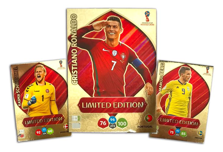 PANINI WORLD CUP 2018 ADRENALYN XL LIMITED EDITION