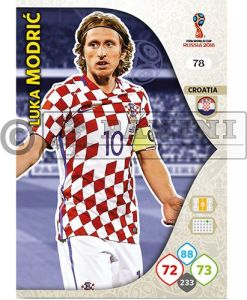 PANINI WORLD CUP 2018 ADRENALYN XL LUKA MODRIC