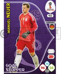 PANINI WORLD CUP 2018 ADRENALYN XL MANUEL NEUER