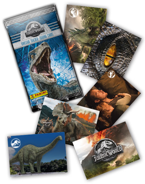 JURASSIC WORLD 2 TRADING CARDS GENERAL