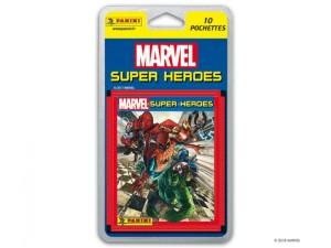MARVEL SUPER HEROES POCHETTES PAR 10