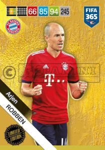 PANINI FIFA 365 ADRENALYN XL 2019 LIMITED EDITION ARJEN ROBBEN
