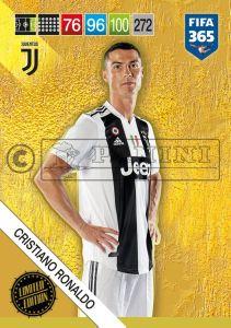 PANINI FIFA 365 ADRENALYN XL 2019 LIMITED EDITION CRISTIANO RONALDO