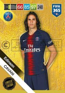 PANINI FIFA 365 ADRENALYN XL 2019 LIMITED EDITION EDINSON CAVANI