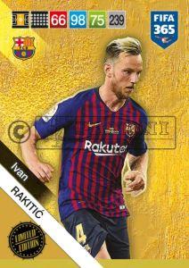 PANINI FIFA 365 ADRENALYN XL 2019 LIMITED EDITION IVAN RAKITIC