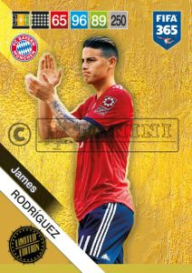 PANINI FIFA 365 ADRENALYN XL 2019 LIMITED EDITION JAMES RODRIGUEZ