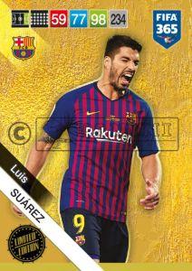 PANINI FIFA 365 ADRENALYN XL 2019 LIMITED EDITION LUIS SUAREZ