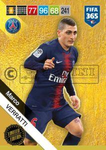 PANINI FIFA 365 ADRENALYN XL 2019 LIMITED EDITION MARCO VERRATTI