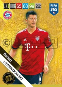 PANINI FIFA 365 ADRENALYN XL 2019 LIMITED EDITION ROBERT LEWANDOWSKI