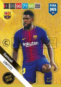 PANINI FIFA 365 ADRENALYN XL 2019 LIMITED EDITION SAMUEL UMTITI