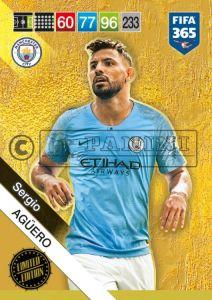 PANINI FIFA 365 ADRENALYN XL 2019 LIMITED EDITION SERGIO AGUERO