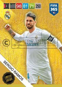 PANINI FIFA 365 ADRENALYN XL 2019 LIMITED EDITION SERGIO RAMOS