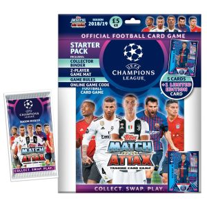 TOPPS CHAMPIONS LEAGUE 2018-19 STARTER PACK