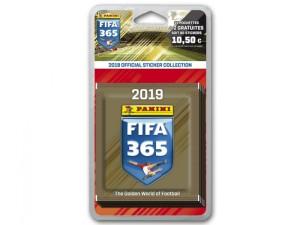 FIFA 365 2019 STICKERS BLISTER 17 POCHETTES