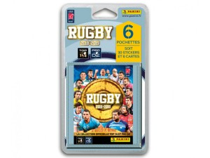 RUGBY 2018-19 BLISTER 6 POCHETTES
