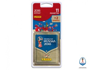 RUSSIA 2018 STICKERS BLISTER 13 POCHETTES