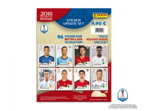 RUSSIA 2018 STICKERS SET MAJ