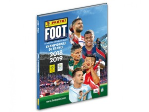 PANINI LIGUE 1 STICKERS 2018-2019 ALBUM RIGIDE