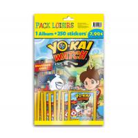 pack loisirs panini yo-kai watch