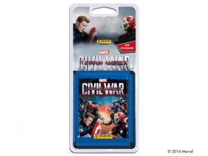 CAPTAIN AMERICA CIVIL WAR BLISTER 8 POCHETTES