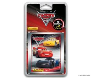 cars 3 blister 17 pochettes