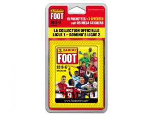 ligue 1 stickers 2016-17 blister 17 pochettes