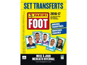 ligue 1 stickers 2016-17 set transferts