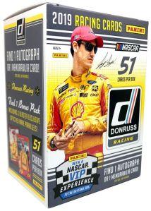 PANINI DONRUSS NASCAR 2019 BOITE 51 POCHETTES