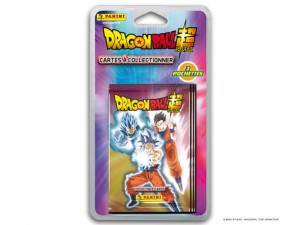 PANINI DRAGONBALL SUPER TRADING CARDS BLISTER 3 POCHETTES