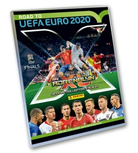 PANINI ROAD TO UEFA EURO 2020 ADRENALYN XL CLASSEUR