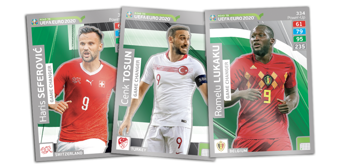 PANINI ROAD TO UEFA EURO 2020 CARTES GAME CHANGER