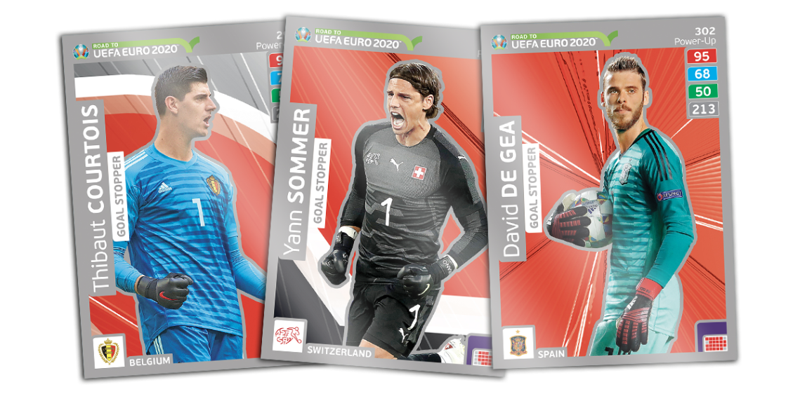 PANINI ROAD TO UEFA EURO 2020 CARTES GOAL STOPPER