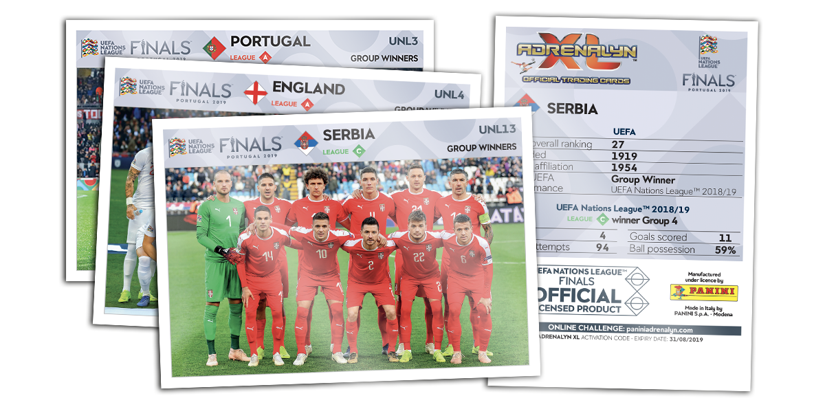 PANINI ROAD TO UEFA Euro 2020 EM ADRENALYN XL 1 classeur vide