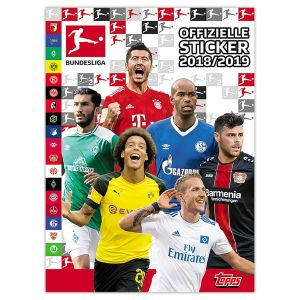 TOPPS BUNDESLIGA STICKERS 2018-2019 ALBUM