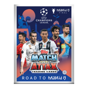TOPPS CHAMPIONS LEAGUE ROAD TO MADRID 19 ALBUM