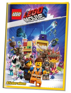 BLUE OCEAN LEGO MOVIE 2 STICKERS ALBUM