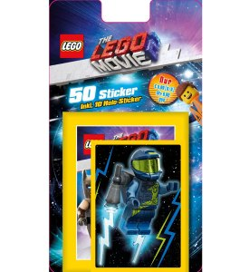 BLUE OCEAN LEGO MOVIE 2 STICKERS BLISTER 10 POCHETTES