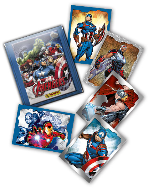 MARVEL AVENGERS STICKERS 2019 GENERAL