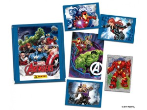 MARVEL AVENGERS STICKERS 2019 POCHETTE ET STICKERS