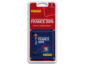 PANINI FIFA WORLD CUP WOMEN FRANCE 2019 BLISTER 7 POCHETTES