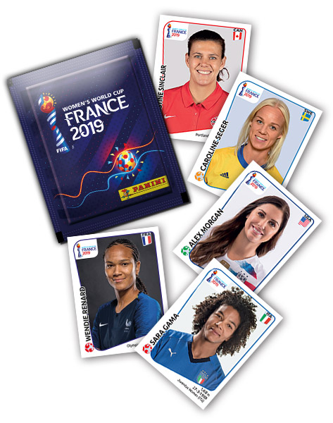 PANINI FIFA WORLD CUP WOMEN FRANCE 2019 GENERAL
