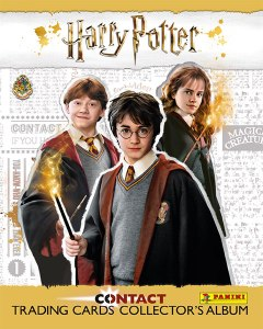 PANINI HARRY POTTER TRADING CARDS CLASSEUR