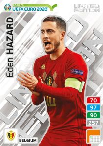 PANINI ROAD TO UEFA EURO 2020 ADRENALYN XL EDEN HAZARD