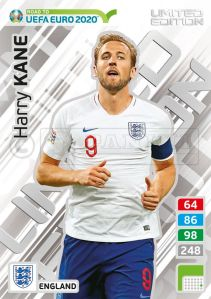 PANINI ROAD TO UEFA EURO 2020 ADRENALYN XL HARRY KANE