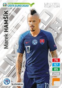 PANINI ROAD TO UEFA EURO 2020 ADRENALYN XL MAREK HAMSIK