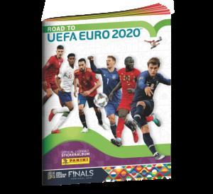 PANINI ROAD TO UEFA EURO 2020 STICKERS ALBUM