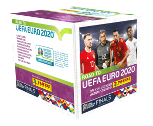 PANINI ROAD TO UEFA EURO 2020 STICKERS BOITE 36 POCHETTES
