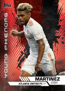 TOPPS MAJOR LEAGUE SOCCER 2019 CARTE MARTINEZ